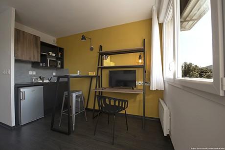image  2019 06 21 residence etudiante suitetudes kampus 30 nimes T1 kitchenette