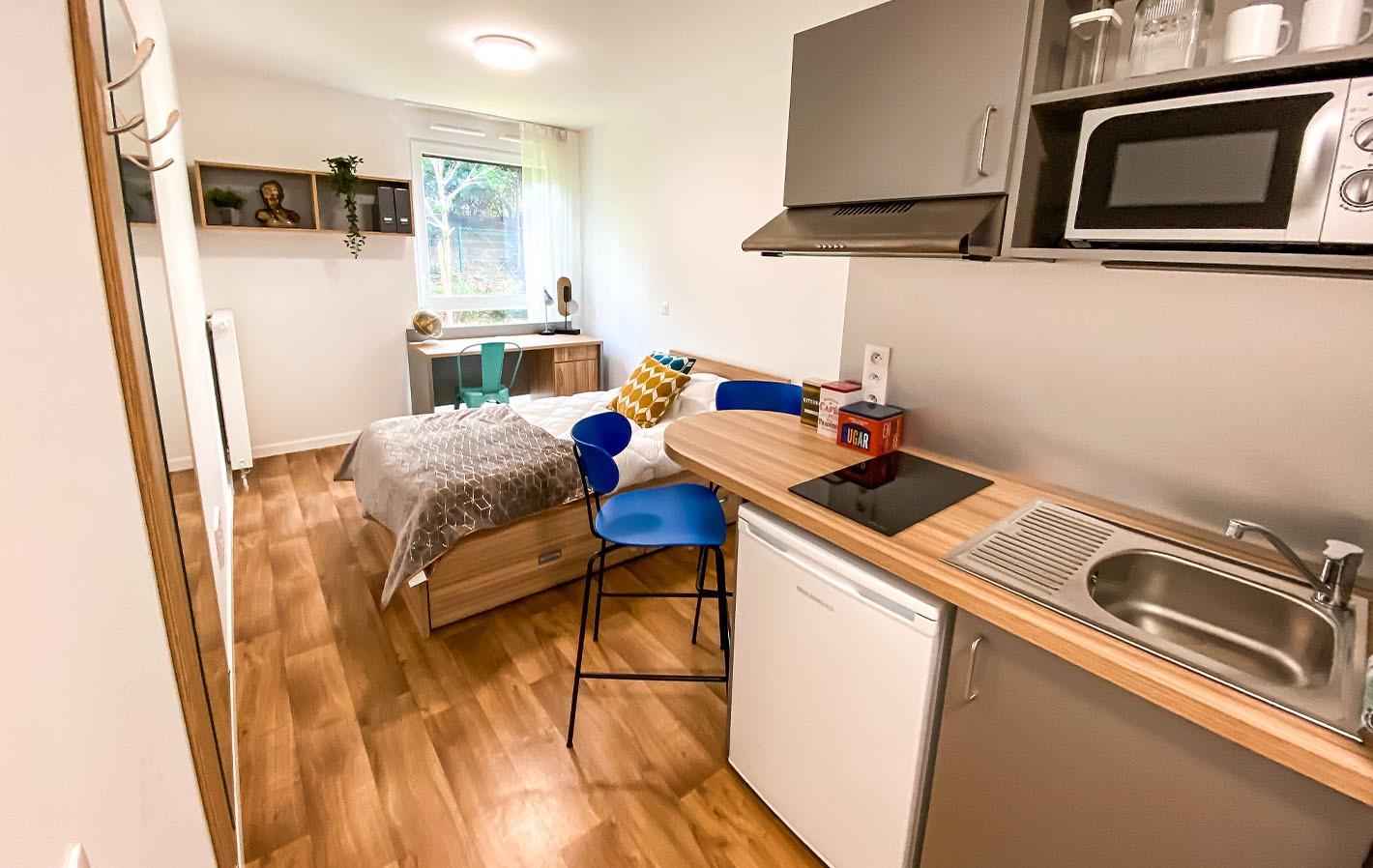 image  2021 03 08 residence etudiante suitetudes streamline boulogne billancourt studio cuisine 1